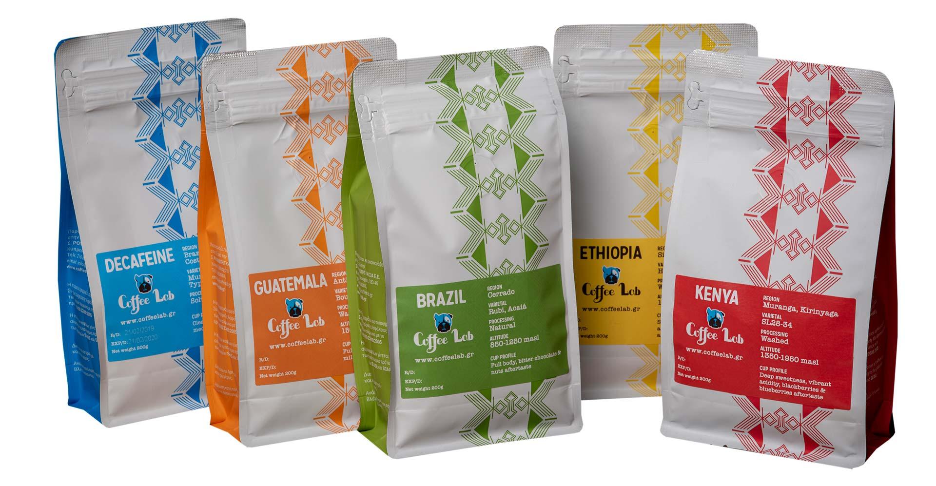 Single origin καφές Coffeelab