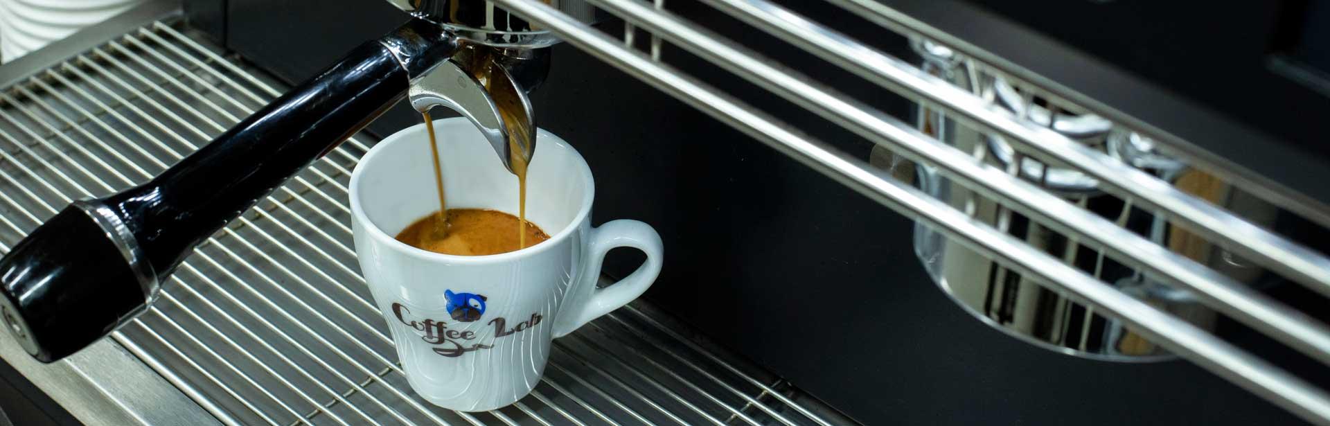 Εκχύλιση espresso Coffeelab